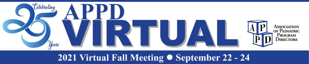 APPD Fall 2021 Meeting Logo
